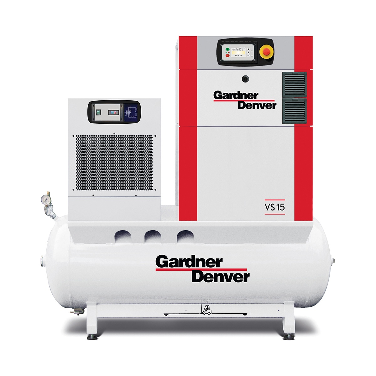 Reliable efficient oil lubricated compressors team air for Gardner website